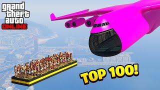 TOP 100 FUNNIEST GṪA 5 FAILS! (Best GTA 5 Funny Moments)