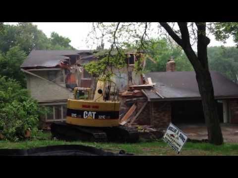 Edina house teardown - Crocker