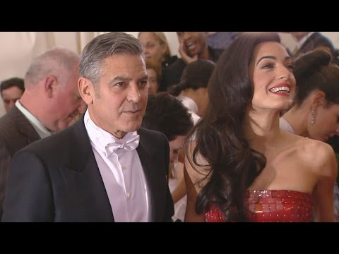 A Timeline of George and Amal Clooney's First Year of Marriage