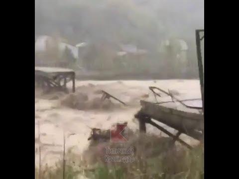 Потоп в Туапсе.