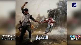 عدسات الصحفيين تخلد لحظات البطولة والرجولة والشجاعة في غزة - (16-5-2018)
