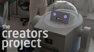 Candy-dispensing Robot | Meet Yesyesbot By Yesyesno (the Makers: Episode 2)