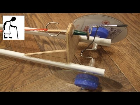 Rubber Band Powered Car #6 - YouTube