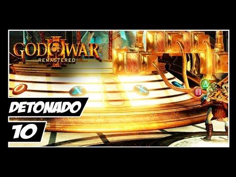 GOD OF WAR 3 REMASTERED - Detonado #10 - KRATOS NO GUITAR HERO?