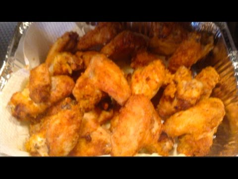 #372 - Air Fried  'Lightly Breaded'  WINGS!