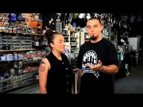 Charlie's Tattoo Supplies and Body Piercings on The Best of Southern California