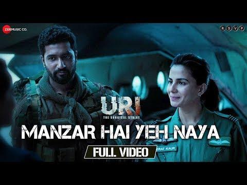 manzar-hai-yeh-naya---full-video-|-uri-|-vicky-kaushal-&-yami-gautam-|-shantanu-s-&-shashwat-s