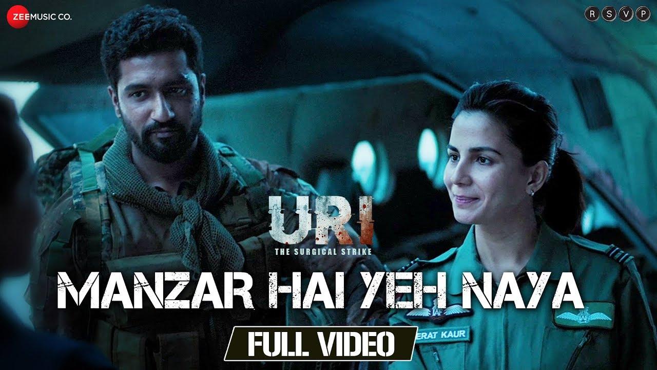 Download Manzar Hai Yeh Naya - Full Video | URI | Vicky Kaushal & Yami Gautam | Shantanu S & Shashwat S
