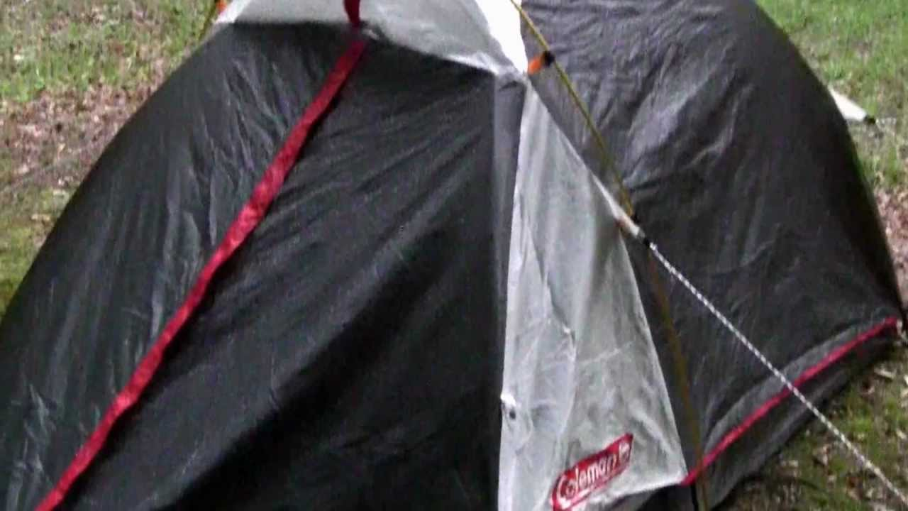 & Coleman Max 2-Person Backpacking Tent - YouTube