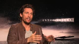 "Matthew McConaughey: ""Interstellar franchise is possible"" - also answers phone during interview"