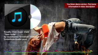 Indie-rock ROYALTY FREE MUSIC TRACK  - Teen Indie / modern pop alternative indie-rock track