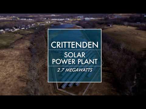 Crittenden Solar Power Plant