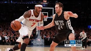 Brooklyn Nets vs New York Knicks - Full Game Highlights | November 9, 2016 | 2016-17 NBA Season