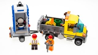 Lego City 60073 Review Build Unboxing Service Truck
