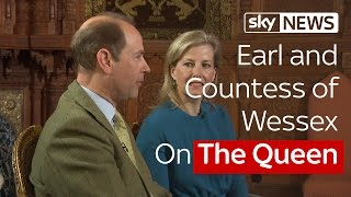 Rhiannon Mills Speaks To The Earl and Countess of Wessex