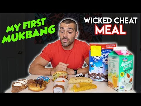 My First Mukbang | Wicked Cheat MEAL