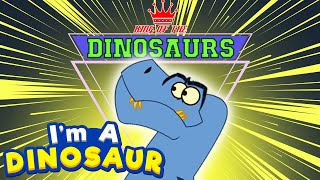 I'm A Dinosaur - Tyrannosaurus Rex | Holiday Season Dinosaur Cartoon | Cartoon For Kids