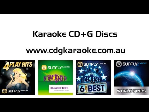 Karaoke CD CDG CD+G discs for your Kmart, Big W, Target or Toysrus Karaoke Machine