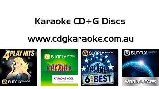 Karaoke CD CDG CD+G discs for your Kmart, Big W, Target or Toysrus Karaoke Machine