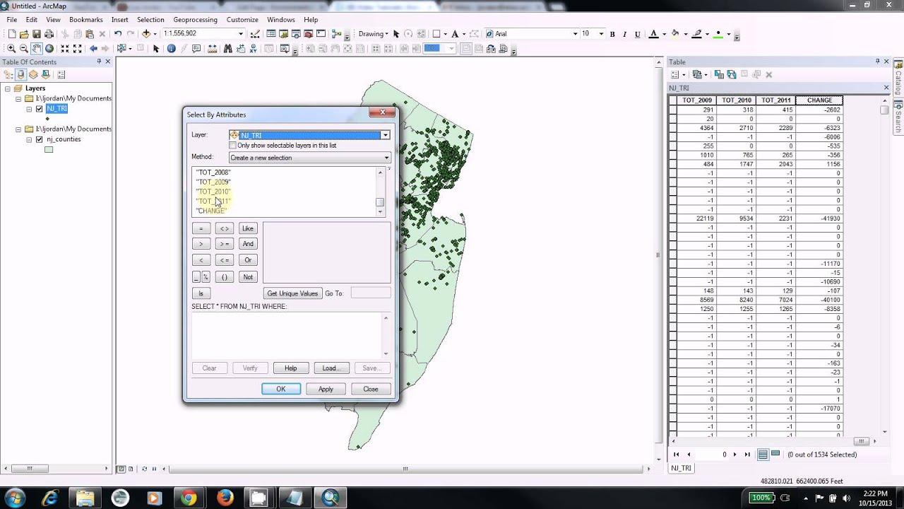 Geographic Information System (GIS) Tutorials | Drew University
