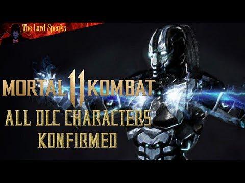 Mortal Kombat 11 All DLC Characters Konfirmed! - The Lord Speaks thumbnail