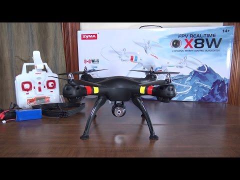 Дрон Syma X8W Explorers с безжична камера и предаване в реално време 20