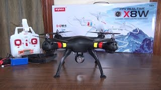 Syma X8W - Review and Flight