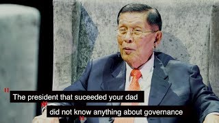 ENRILE: A WITNESS TO HISTORY (Episode 2) | Bongbong Marcos