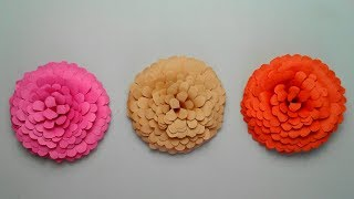 Easy To Make Beautiful Paper Flowers | DIY Paper Flower Craft || SUNIL CREATION