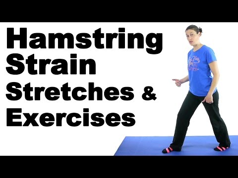 Hamstring Strain Stretches & Exercises Ask Doctor Jo