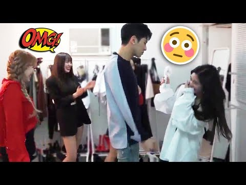 Playful TVXQ Yunho gets closer to Red Velvet IRENE (she got shy!) | 레드벨벳 아이린 동방신기 운명 유노윤호