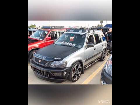 Slammed lowered low 2000 Honda rd1 jdm crv