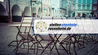 Stellenangebote Rosenheim | Ihre regionale Jobbörse