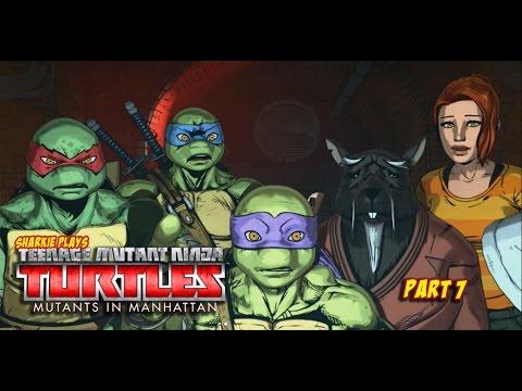 EVIL BRAIN GENERAL [#7]   Teenage Mutant Ninja Turtles - Mutants in Manhattan PS4 1080p
