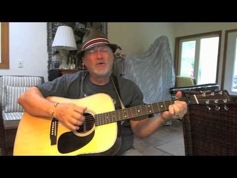 1b - Mad World - acoustic cover of Gary Jules with lyrics and chords