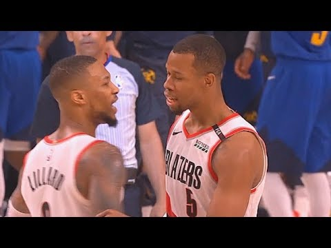 Nuggets Vs Trail Blazers CRAZY GAME 3 ENDING & Rodney Hood Shocks Crowd In Final Minutes!