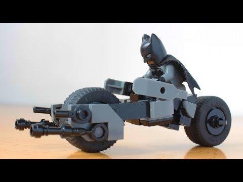 Lego Batpod From The Dark Knight Moc