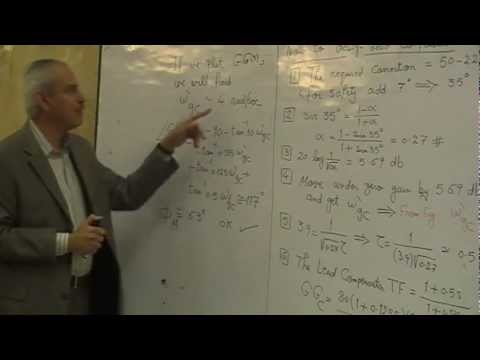 06- Lead & Lag Compensators || Dr.Ahmed El Garhy
