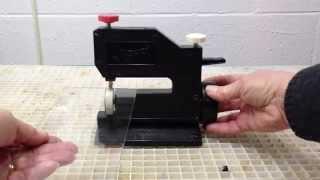 Using the ScoreOne™ Glass Cutter