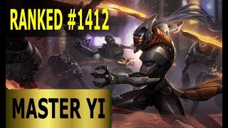 Master Yi Jungle - Full League of Legends Gameplay [German] Lets Play LoL - Ranked #1412