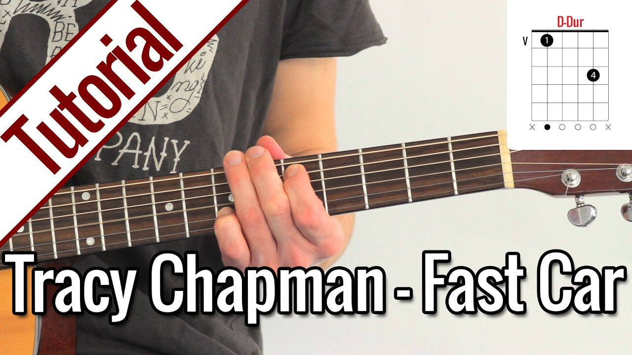 Tracy Chapman Fast Car Gitarren Tutorial Deutsch YouTube - Tracy chapman fast car guitar