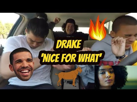 Drake - Nice For What REACTION  REVIEW