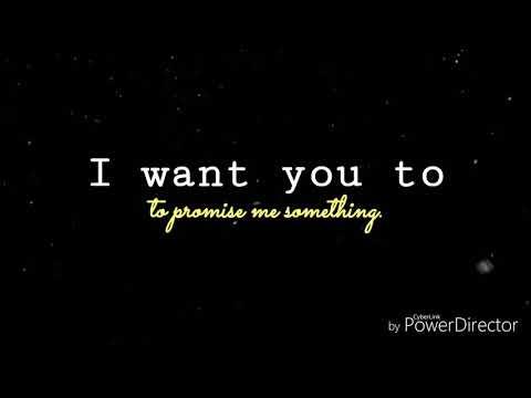 I want you to promise me something. FREE AUDIO