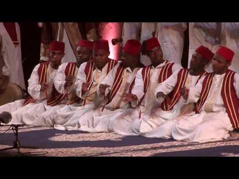 Mtendeni Maulid Ensemble - A Sufi Ritual from Zanzibar - On Stage in Fès 2010 part 1