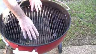 How To Prepare A Weber Charcoal Grill For Indirect Method Cooking