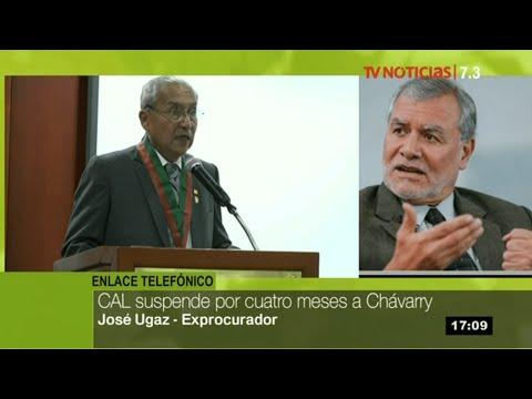 Sin colegiatura, Pedro Chávarry pierde condición de fiscal, afirma José Ugaz