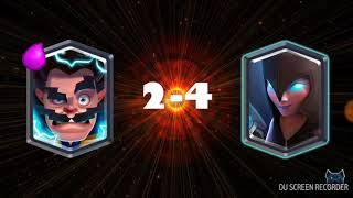 Electro wizard vs Night witch Clash royale
