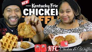 KFC Chicken and Waffles Mukbang Review