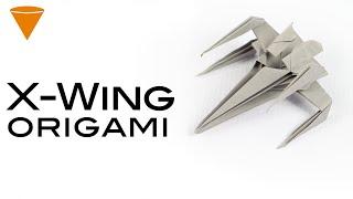 Nave de star wars (X-WING)  │ origami