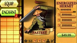 Shadow Fight 2 The Most Fastest Hermit